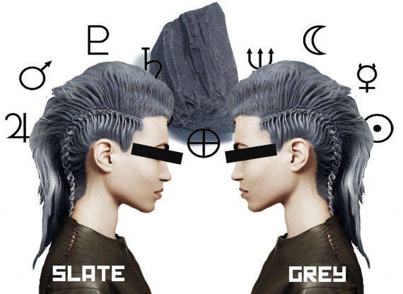 PRE-ORDER Slate Grey Hair Dye by LunarTidesHair on Etsy