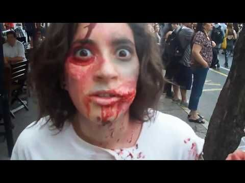 ZOMBIE WALK BUENOS AIRES ARGENTINA! - YouTube