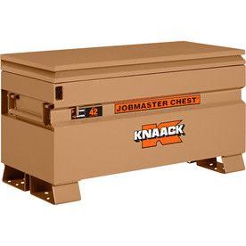 Knaack 19-In W X 42-In L X 23.375-In Steel Jobsite Box 42