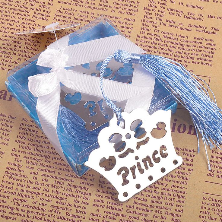 >> Click to Buy << 200pcs Princess / Prince Crown Bookmark Wedding Party Favor Birthday Souvenirs Gifts for Guests Baby Shower Birthday Decor #Affiliate