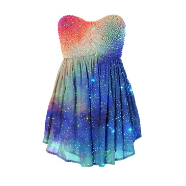 I found 'Sparkling Galaxy Short Dress' on Wish, check it out!