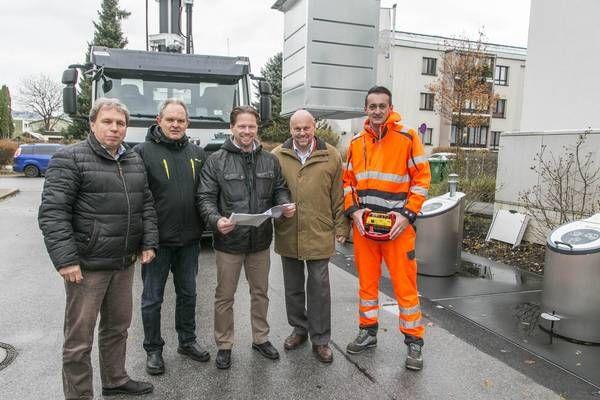 Salzburg Vorreiter in Sachen moderner Abfallentsorgung