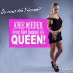 Sexy Prinzessin Queen lustige Sprüche