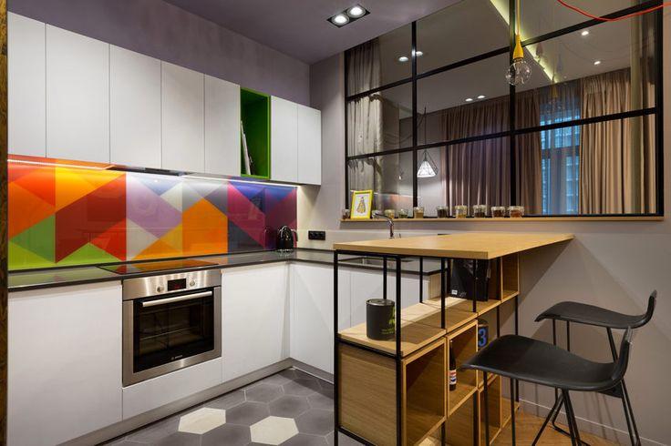 Kreatív egyedi lakberendezés 45m2-en - egy fiatal pár modern lakása egyedi megoldásokkal