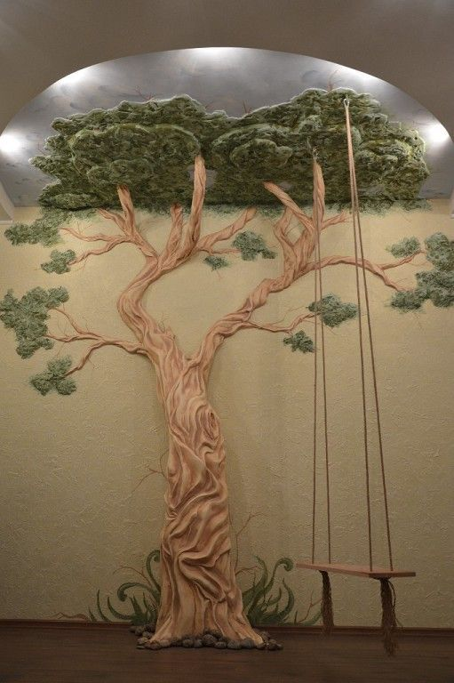 Image result for clay wall murals trees