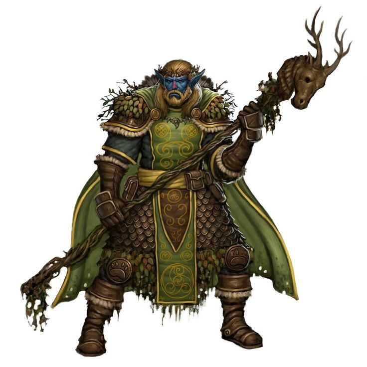 Firbolg Druid/Nature Cleric