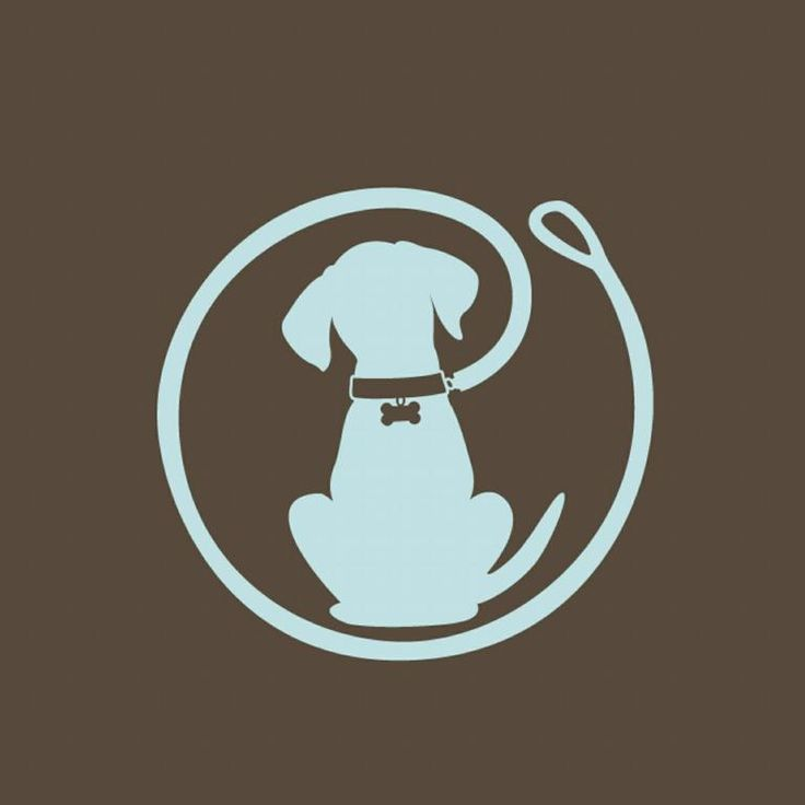 Dog Walking Logo Trumbos leash