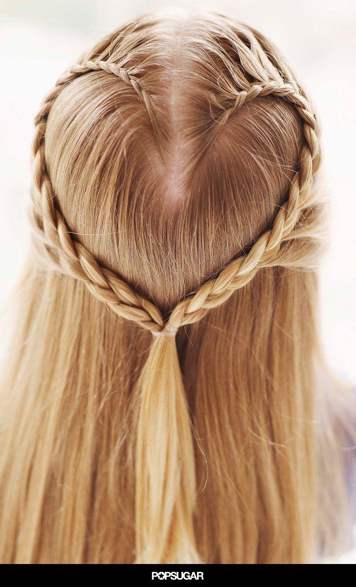 top 25+ best heart braid ideas on pinterest   i heart hair, heart