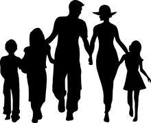 Chłopiec, Tata, Córka, Rodzina, Ojciec