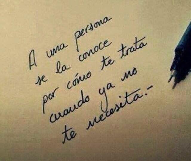"""Quienlodira Creaciones Amor Con el Corazón: Reflexión: """" A una persona se la conoce por cómo te trata cuando ya no te necesita."""" #quienlodira"""