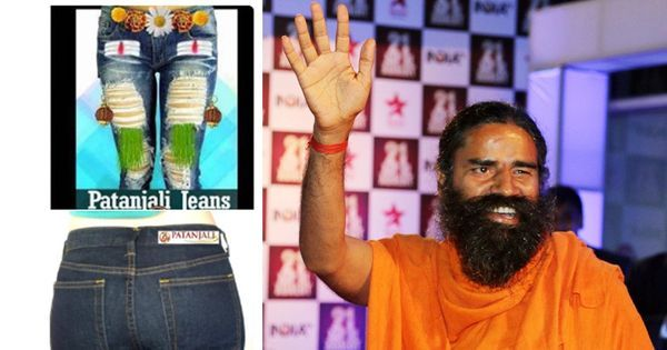 'Are desi jeans pre-washed in gau mutra?': Baba Ramdev's new business foray has Twitter in stitches