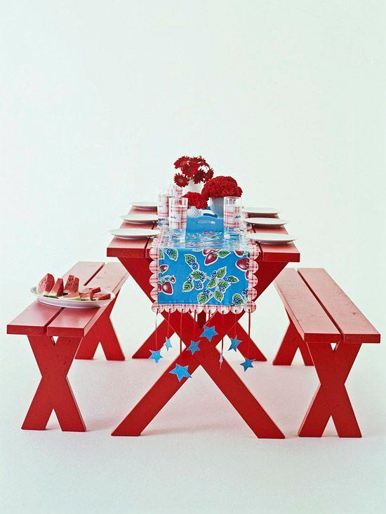 Tafelloper van tafelzeil
