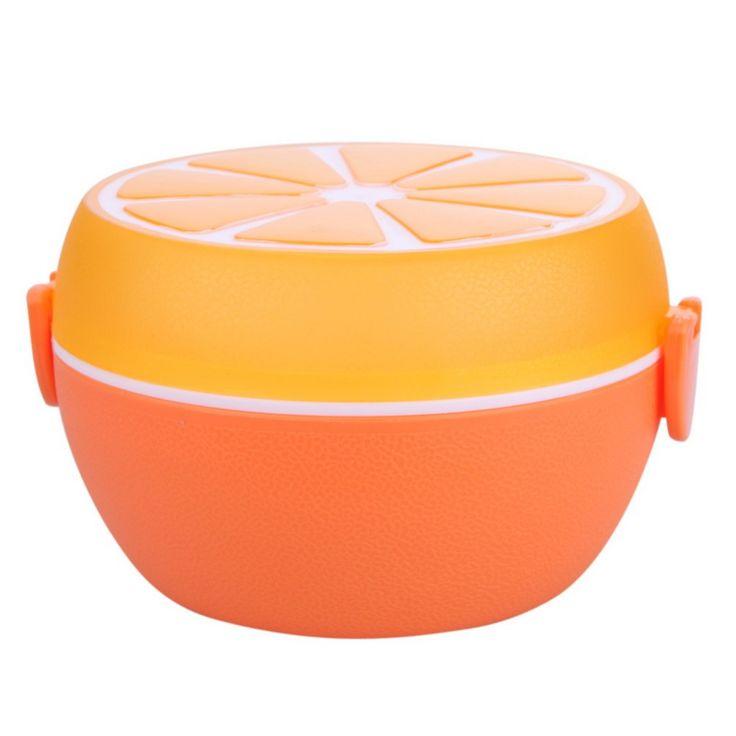 Lemon Shaped Lunch Box //Price: $9.95 & FREE Shipping //     #swimming #yoga Lemon Shaped Lunch Box