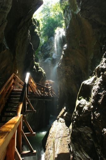 Sigmund Thun Gorge, Austria - Zell am See-Kaprun Tourism
