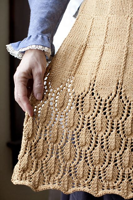 Ravelry: Marilla's Apron pattern by Joanna Johnson
