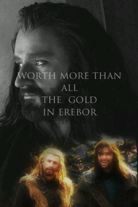 Amen. Peter Jackson please don't follow the book when it comes to their fate. I don't think I can handle it. The others maybe ... But not Kili!