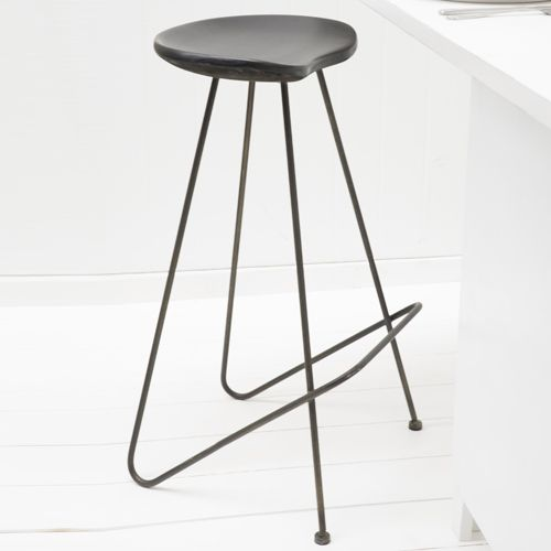 Best 25 tabouret de bar noir ideas on pinterest - Tabouret bois vintage ...