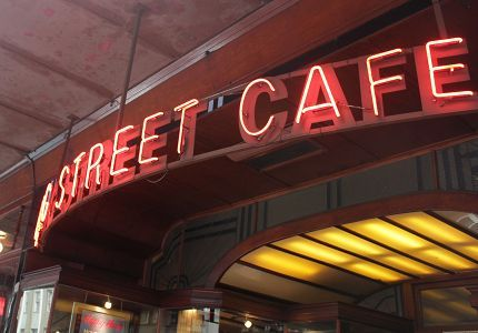 Long Street Cafe – a Cape Town institution.