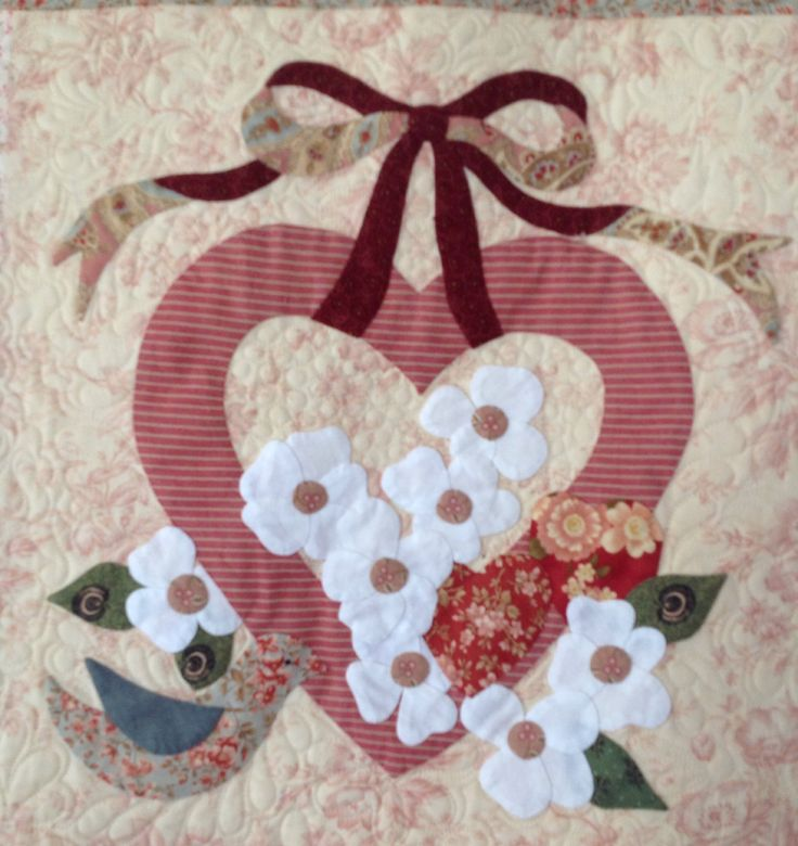 Appliqu 233 By Janet Beyea From The Vintage Valentine