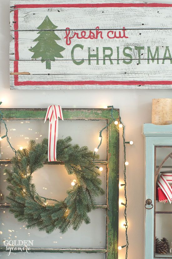 2015 Christmas Home Tour - The Golden Sycamore