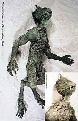 .And here is the chupacabra, or at least the preserved 5-ft-tall corpse of one!