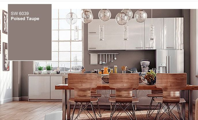 color of the year, poised taupe, 2017, sherman williams, trend, home, decor, blog, katzberry