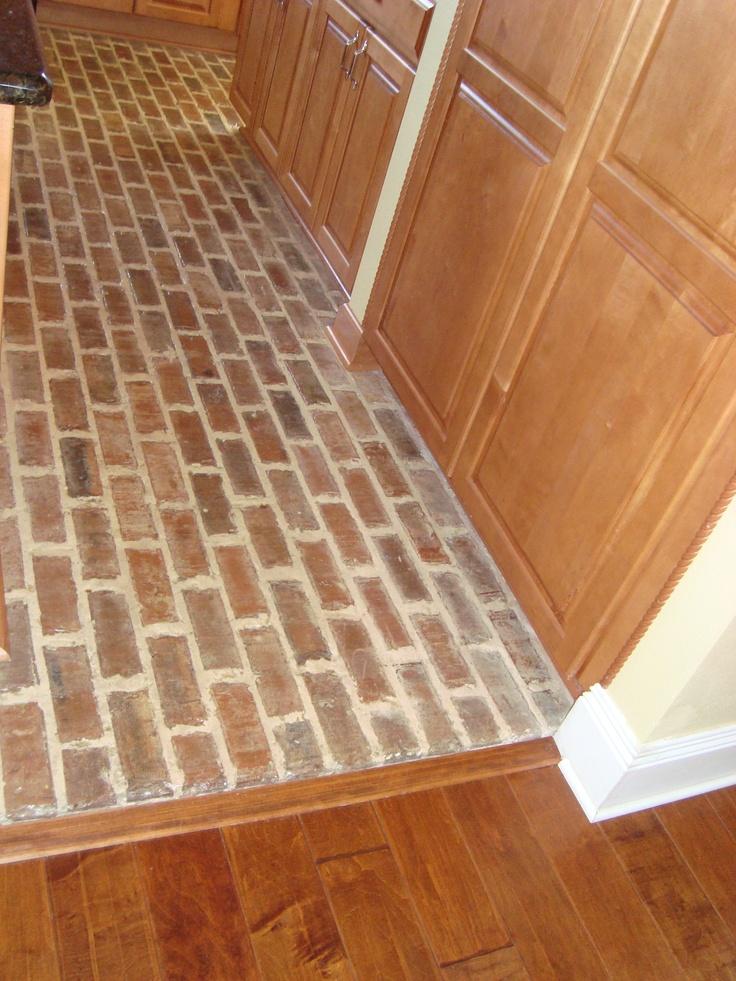 Brick Flooring Pavers For Kitchen Floors : Best images about brick paver flooring on pinterest