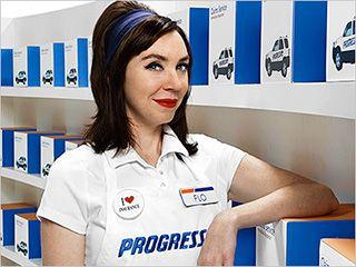 flo progressive insurance girl hot