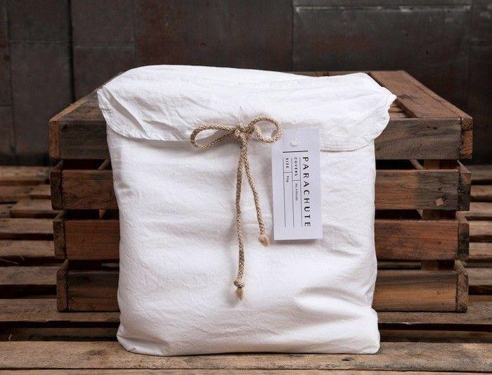 Parachute Bed Linens/Remodelista