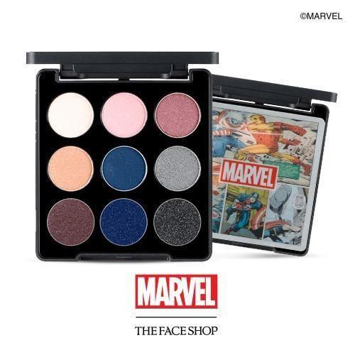 Paleta de sombras mais fofa e amada do mundo, inspirada nos heróis Marvel