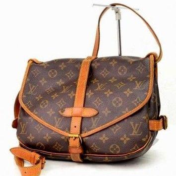 Louis Vuitton Saumur 30 Brown Messenger Bag $495