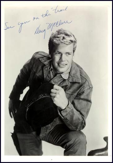 Doug McClure (as Flip on Overland Trail) yeesh what a cutie