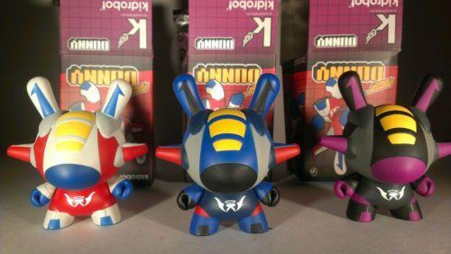Kidrobot Kano Flight Dunny Set of 3 | eBay