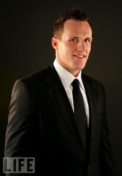 Dion Phaneuf of the Toronto Maple Leafs at the 2008 NHL Awards