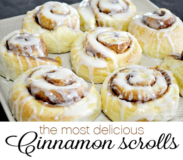 The Most Delicious Cinnamon Scrolls - looks like a simple recipe?