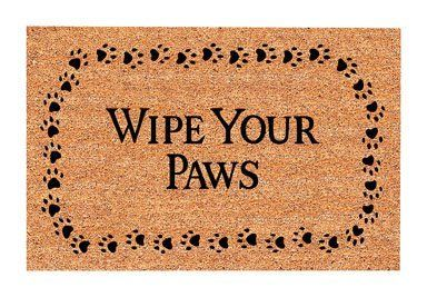 USCOA Intl 31801 DeCoir Brush Entrance Mat - Wipe Your Paws by USCOA Intl. $17.59. DeCoir brush entrance mats combine a natural elegance with superior cleaning performance. DeCoir mat is manufactured in the USA from natural coir (coconut) fiber bristles which are inserted into a weatherproof vinyl backing. The bristles offer a unique brush style cleaning surface. This cleaning feature is far superior to that of imitation cocoa mats and other synthetic mats. DeCoir...