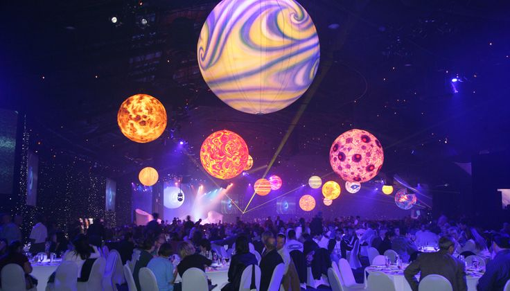space themed parties - projections                                                                                                                                                                                 More
