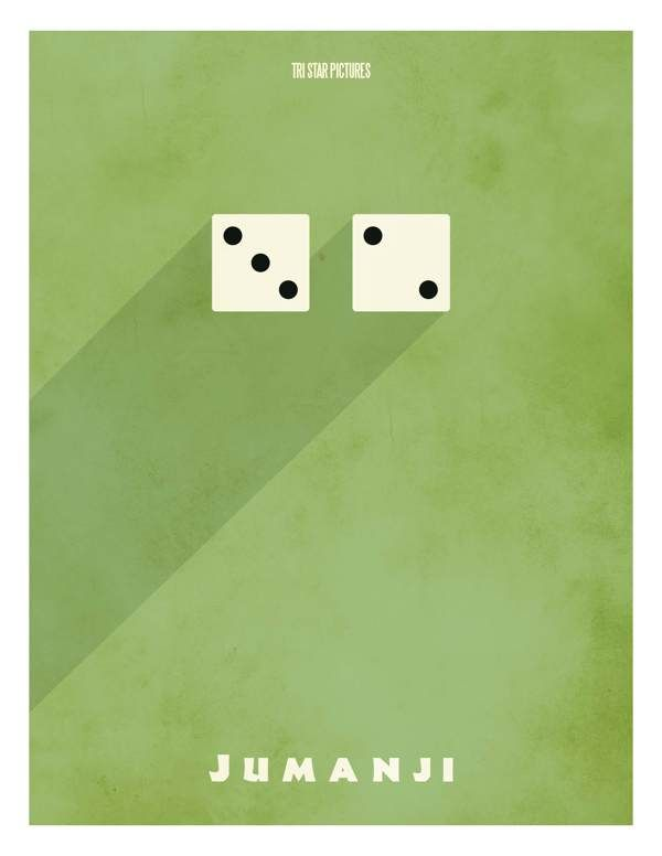 #Jumanji #Minimalist #MoviePoster by artist Adam Thompson