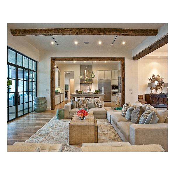 Cat Mountain Residence - modern - living room - austin - by... ❤ liked on Polyvore