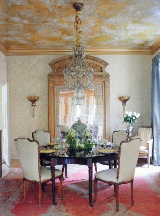 New Orleans style   Elegant dining room, Home ceiling ...