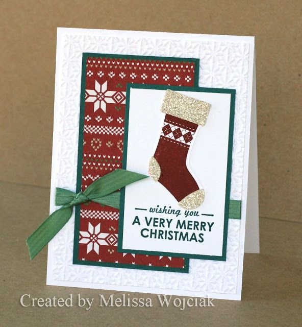 10th Annual Christmas Stamp-a-Stack by RunningwScissorsStamper