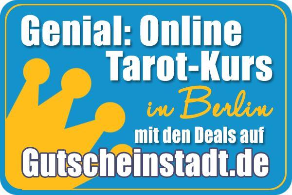 Mit Glück einen #Tarotkurs online günstig buchen in #Berlin mit #Gutscheinstadt