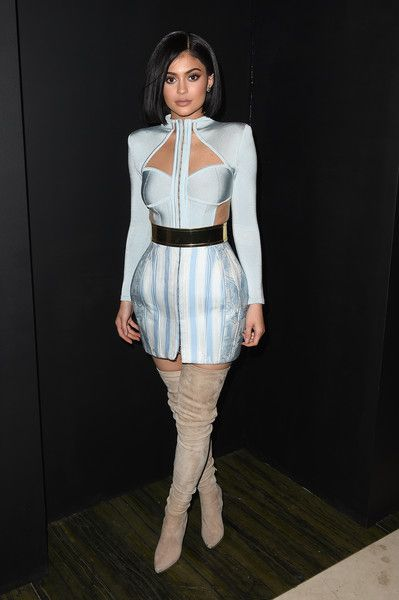 Kylie Jenner Photos - Balmain And Olivier Rousteing Celebrate After The Met Gala - Inside - Zimbio