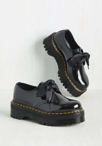 Creep It Real Shoe by Dr. Martens - Black, Solid, Work, Casual, Vintage…