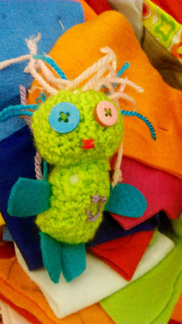 Monster gjort av en 8-åring på kurs
