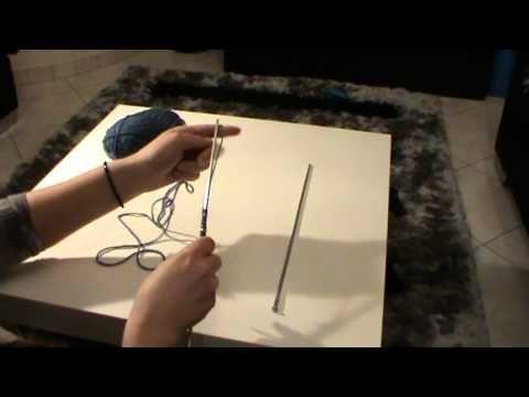 Αρχη για πλεξιμο με βελόνες 2 τροποι - YouTube