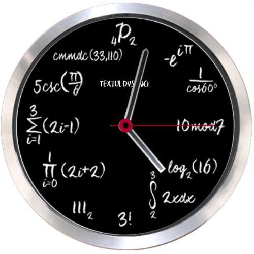 Ceas Matematica (de liceu)