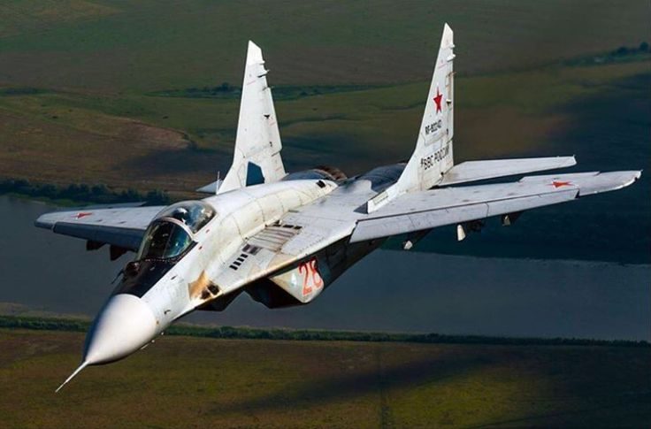 "Russian Air Force Mikoyan-Gurevich Mig-29S ""Fulcrum""."