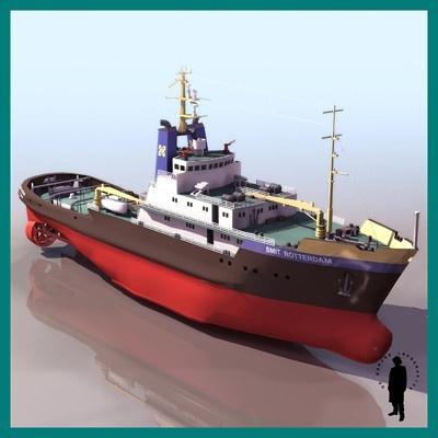 SMIT ROTTERDAM SHIP OCE...