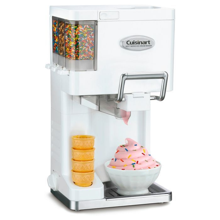 Cuisinart Mix It In Soft Serve Ice Cream Maker White Ice 45p1